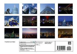 Frankfurt am Main (Posterbuch DIN A4 quer)