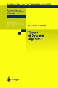 Theory of Operator Algebras 2