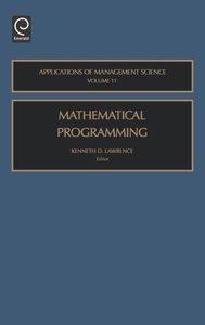 Mathematic Program Mansc11h