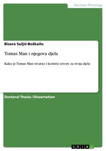 Tomas Man i njegova djela