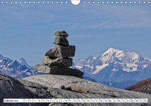 Stein auf Stein. Das Geheimnis der Steinmännchen (Wandkalender 2