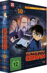 Detektiv Conan - TV-Serie. Box.10, 5 DVDs