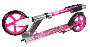 New Sports Scooter Pink Star 205 mm, TÜV/GS