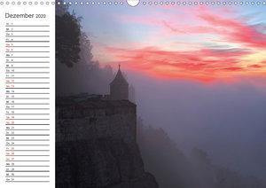 Nebelwelten Sächsische Schweiz (Wandkalender 2020 DIN A3 quer)