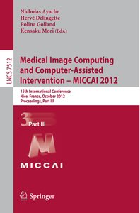 Medical Image Computing and Computer-Assisted Intervention -- MI