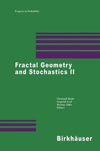 Fractal Geometry and Stochastics II