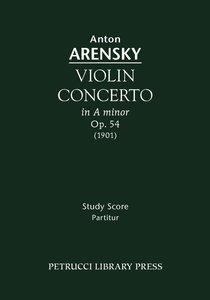 Violin Concerto, Op.54 - Study Score