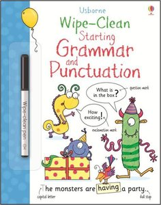 Wipe-Clean Starting Grammar and Punctuation