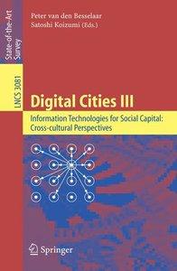 Digital Cities III. Information Technologies for Social Capital: