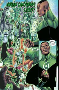 Hal Jordan & das Green Lantern Corps