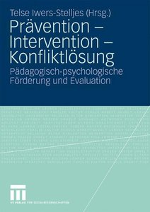 Prävention - Intervention - Konfliktlösung