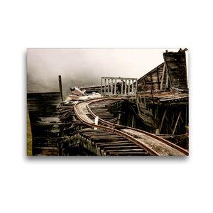 Premium Textil-Leinwand 45 cm x 30 cm quer Independence Mine am