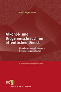 Alkohol- und Drogenmissbrauch im öffentlichen Dienst