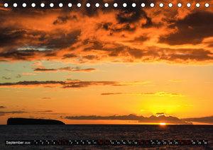 Sunsets of Hawaii (Tischkalender 2020 DIN A5 quer)