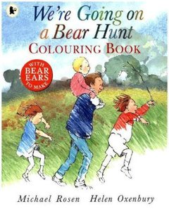 We're Going on a Bear Hunt. Colouring Book