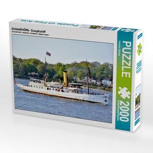 CALVENDO Puzzle SCHAARHÖRN - Dampfschiff 2000 Teile Lege-Größe 9