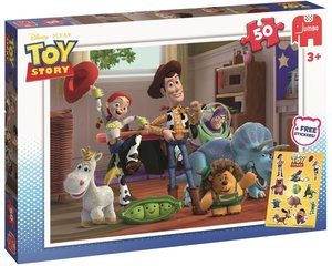 Disney Pixar - Toy Story 50 Teile Puzzle inkl. Sticker