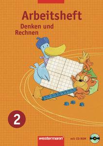 Denken und Rechnen 2. Arbeitsheft mit CD-ROM. Nordrhein-Westfale
