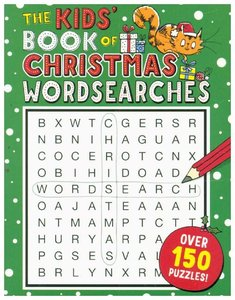 The Kids\' Book of Christmas Wordsearches