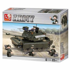 Sluban ARMY M38-B6500 - Panzer II, 312 Teile