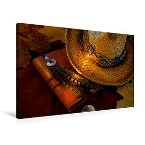 Premium Textil-Leinwand 75 cm x 50 cm quer turn back time