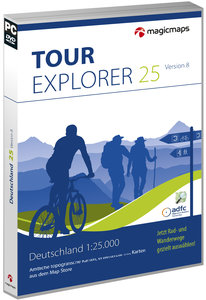 TOUR Explorer 25 Set Ost, Version 8.0 (Berlin, Brandenburg, Sach