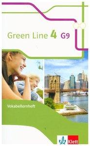 Green Line 4 G9. Vokabellernheft 8. Klasse. Ausgabe ab 2015