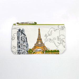 Tasche, siebgedruckt- Design Paris