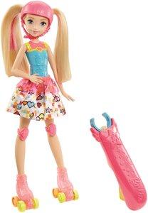 Mattel Barbie Die Videospiel-Heldin Rollschuh-Fahrerin
