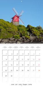 Beautiful Azores (Wall Calendar 2020 300 × 300 mm Square)