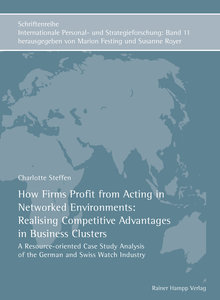 How Firms Profit from Acting in Networked Environments: Realisin