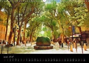 Paysages d\'Aix en Provence (Calendrier mural 2018 DIN A3 horizo