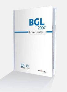Baugeräteliste ( BGL) 2007
