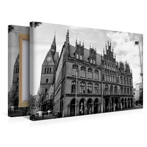 Premium Textil-Leinwand 45 cm x 30 cm quer Altes Rathaus