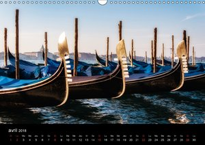 Venise Impressions (Calendrier mural 2018 DIN A3 horizontal) Die