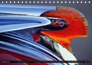 Auto-Juwelen - Kühlerfiguren in Kuba (Tischkalender 2017 DIN A5
