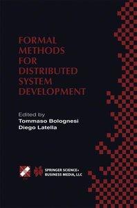 Formal Methods for Distributed System Development