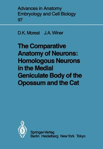 The Comparative Anatomy of Neurons: Homologous Neurons in the Me
