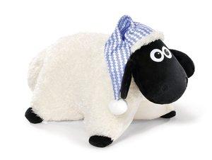 NICI 41473 - Shaun Das Schaf Kuscheltier-Kissen mit Schlafmütze,