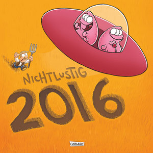 Nichtlustig Wandkalender 2016