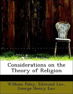 Considerations on the Theory of Religion