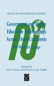 Government and Higher Education Relationships Across Three Conti