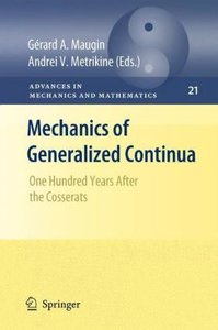 Mechanics of Generalized Continua