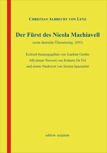 Der Fürst des Nicola Machiavell