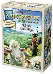 Carcassonne - Schafe und Hügel