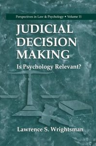 Judicial Decision Making