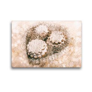 Premium Textil-Leinwand 45 cm x 30 cm quer Weihnachtsleckerei