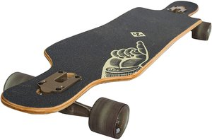 MTS 500260 - StreetSurfing Longboard Freeride Curve Drop Through