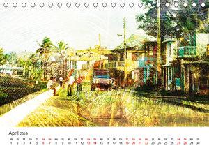 Kuba anders-Art-ig (Tischkalender 2019 DIN A5 quer)