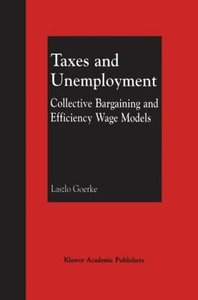 Taxes and Unemployment